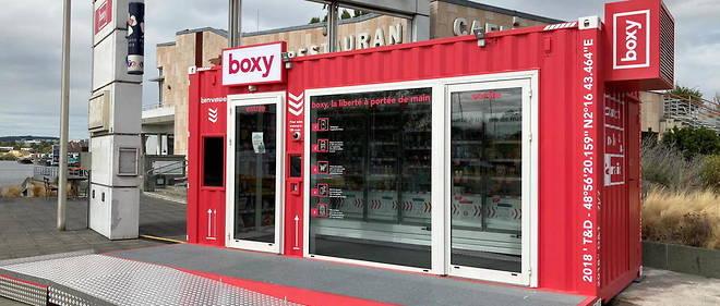 Boxy, le magasin autonome où l'on ne passe pas à la caisse
